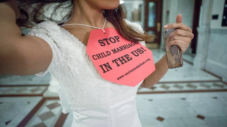 Yhdysvalloissa yritetään kieltää lapsiavioliittoja