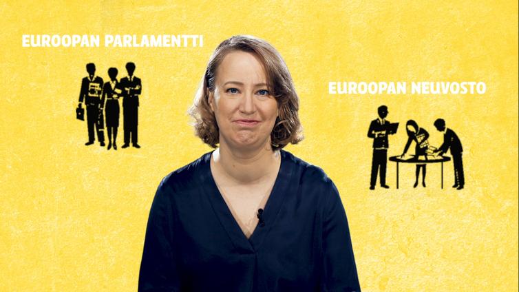 Näin asioista päätetään Euroopan unionissa
