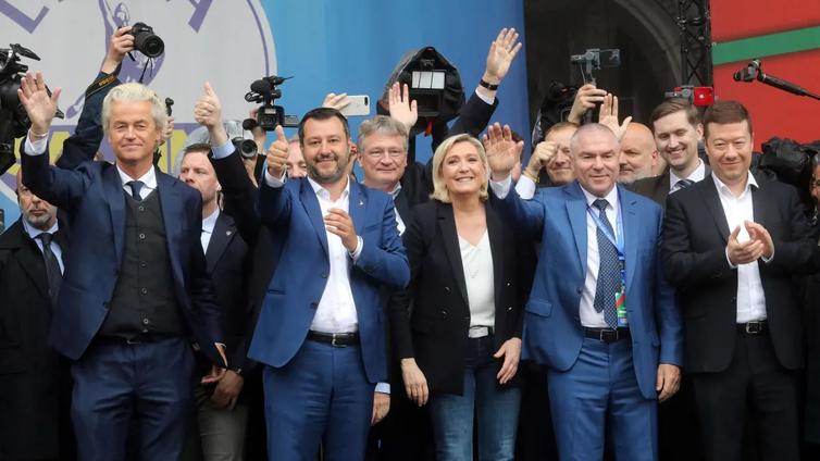 Oikeistopopulistien rynnistys jäi vajaaksi EU-vaaleissa