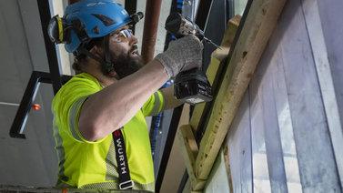 Joka viides rakennusalan työntekijä on ulkomainen