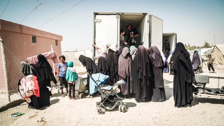 Al-Holin leirillä Syyriassa elää kaksi suomalaista orpolasta