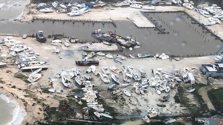 Suomen Punainen Risti lähettää avustustiimin Bahamasaarille hurrikaanin uhrien avuksi