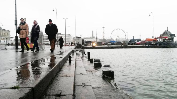 Itämeri lämpenee ja talvitulvat yleistyvät Suomessa 2070-luvulla
