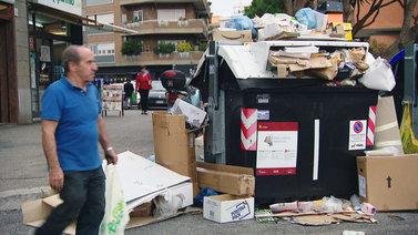 Rooman kaupunkia pitkään piinanneet jäteongelmat pahenevat