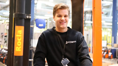Ville Taavila, 20, nappasi työpaikan koulun työharjoittelun kautta