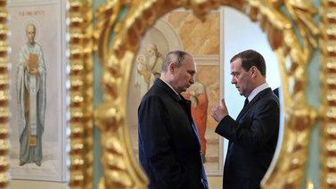 Venäjän hallitukselle yllätysero