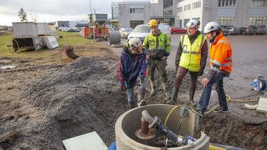 Suomen ensimmäinen geolämpölaitos käynnistyi Espoossa