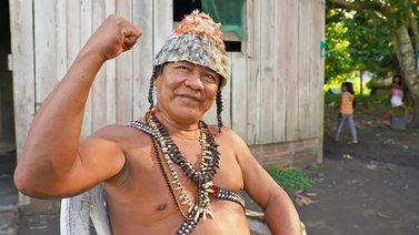 Brasilian presidentti hamuaa Amazonin alkuperäiskansojen maita