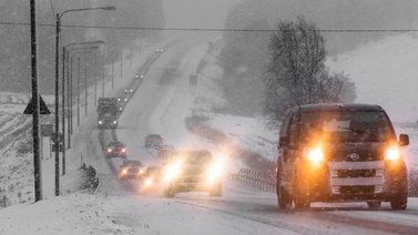 Etelä-Suomen hiihtolomalaiset ovat lähteneet etsimään lunta Lapista