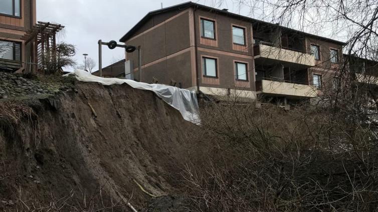 Sortumavaarassa oleva rivitalo on laitettu asumiskieltoon Tampereella