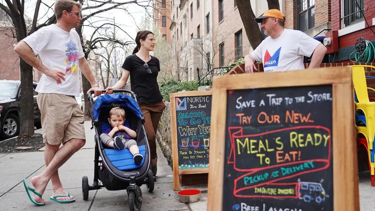 Washingtonin suomalaisravintola muuntui lennosta ruuan noutopaikaksi