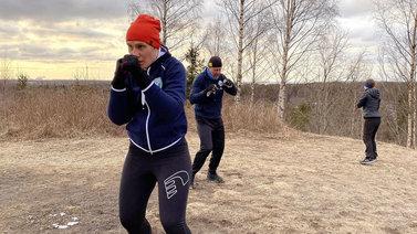 Poikkeusolot muutti kilpaurheiljoiden treenaamista
