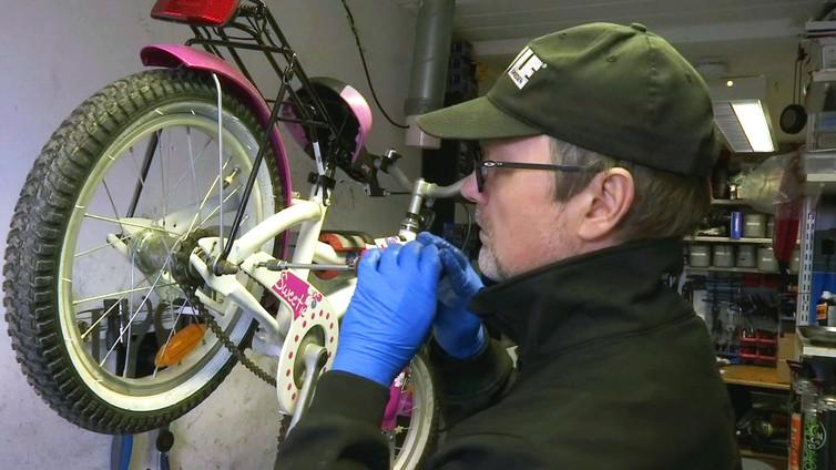 Pyöräkorjaamoissa eletään nyt kiireistä aikaa