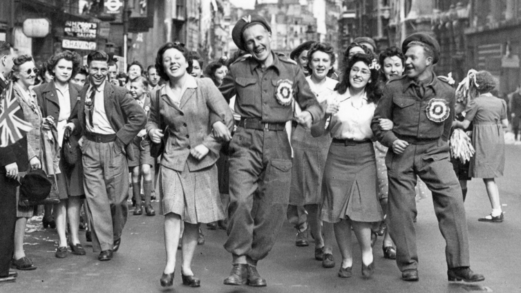 Toinen maailmansota päättyi Euroopassa 75 vuotta sitten