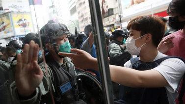 Hongkongilaiset vastustavat Kiinan kaavailemaa turvallisuuslakia