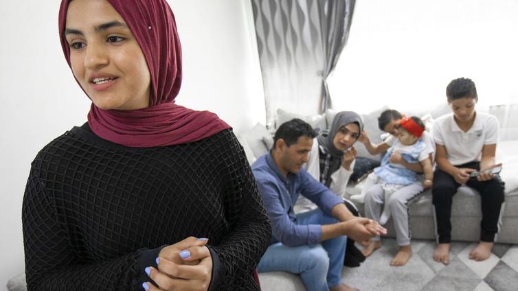 Zahra Mahmood, 14, ei halua edustaa etnistä ryhmää vaan itseään
