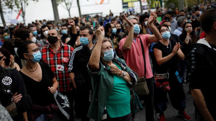 Euroopan pahin koronatilanne on Espanjassa