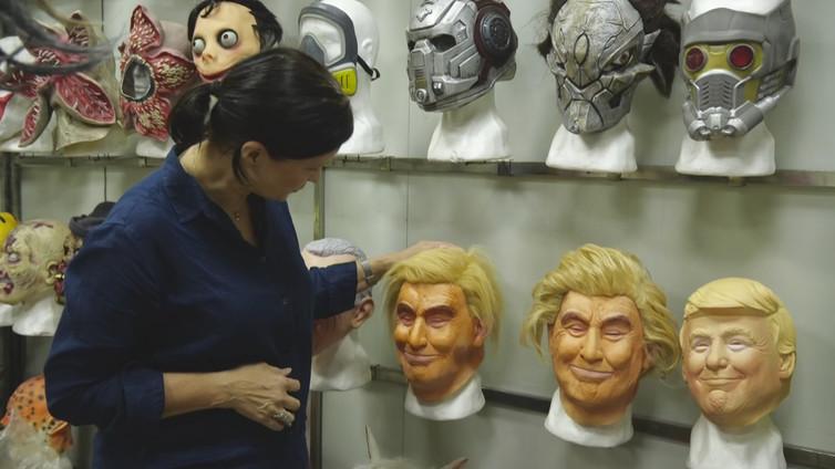 Kiinalaisten Trump-naamarien kauppa hyytyi kauppasodan takia
