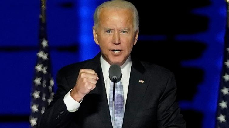 Joe Biden on Yhdysvaltojen uusi presidentti