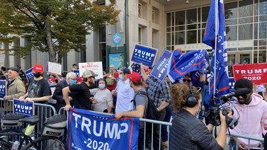 Trumpin kannattajat eivät hyväksy vaalitulosta