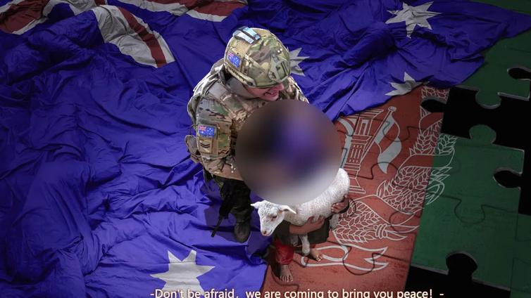 Australia raivostui Kiinalle sotilasväkivaltaa esittävän väärennetyn kuvan levittämisestä