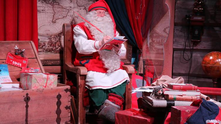 Joulupukin pajakylässä on hiljaista tänä vuonna