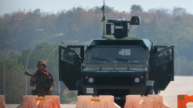Armeija kaappasi jälleen vallan Myanmarissa