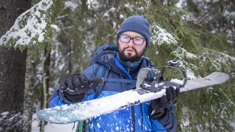 Liukulumikenkäilystä tuli talven hittilaji