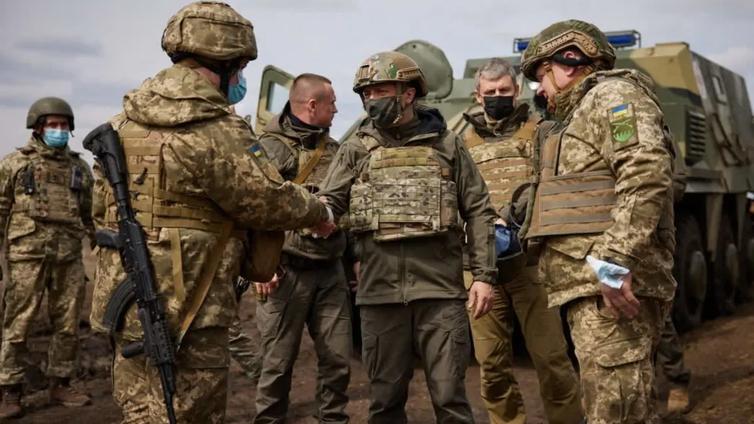 Tilanne Ukrainassa räjähdysherkkä