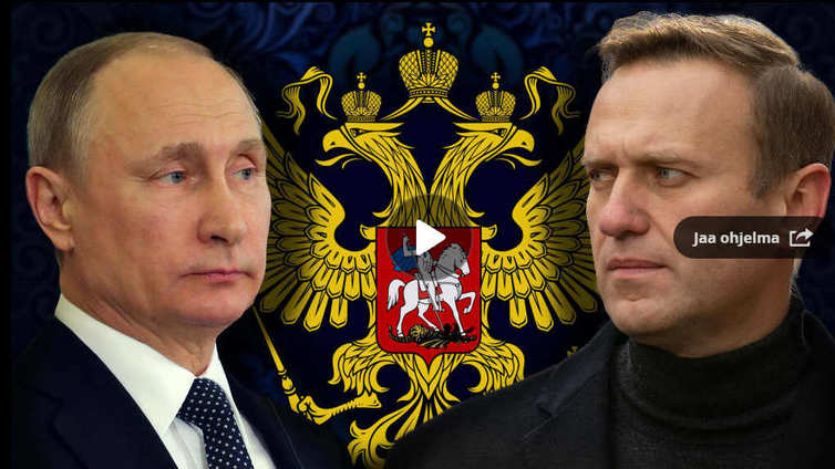 Aleksei Navalnyi - piikki Putinin lihassa