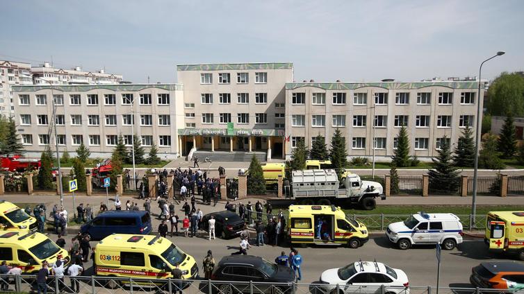 Venäjän Kazanin kouluampumisessa useita kuolonuhreja