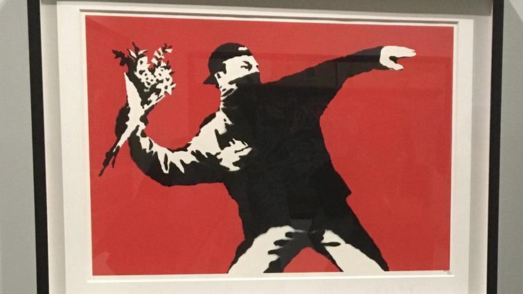 Maailman tunnetuimman katutaiteilijan Banksyn teoksia ensimmäistä kertaa esillä Suomessa