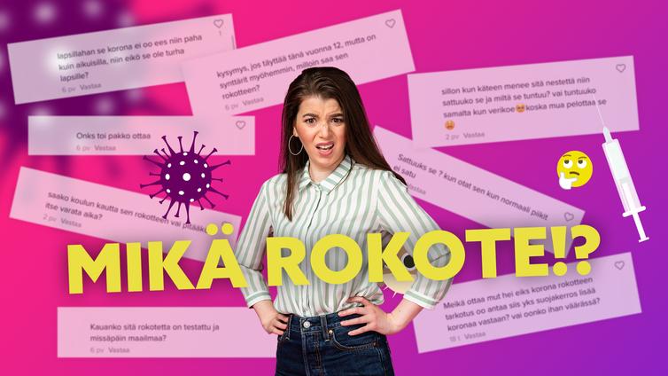 Yle Mix selvittää: Miksi nuoret tarvitsevat koronarokotteen?