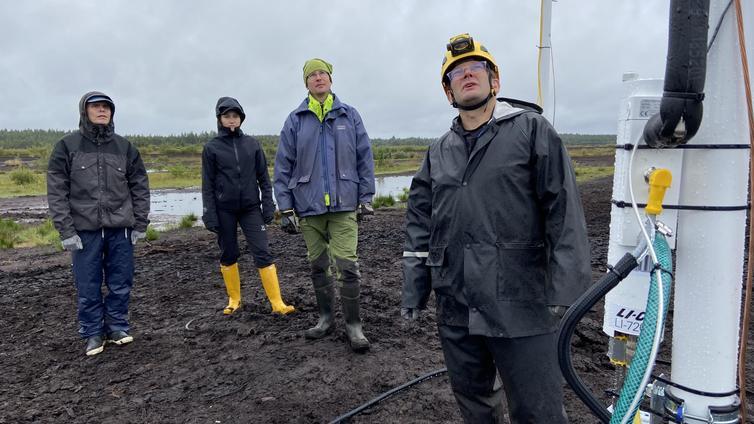 Etelä-Pohjanmaalla tutkitaan vanhojen turvesoiden ilmastopäästöjä