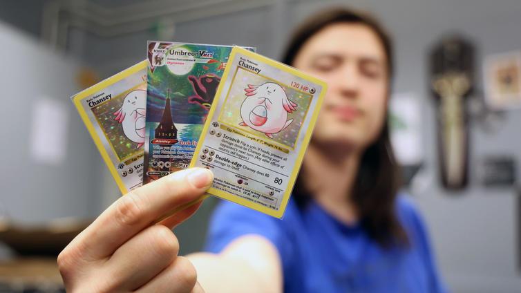 Pokémon-kortit viedään taas käsistä