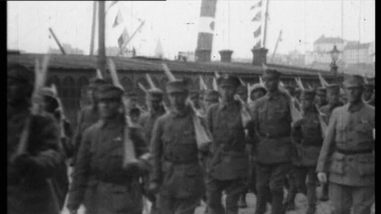 Ruotsalainen prikaati taisteli valkoisten rinnalla Suomen sisällissodassa
