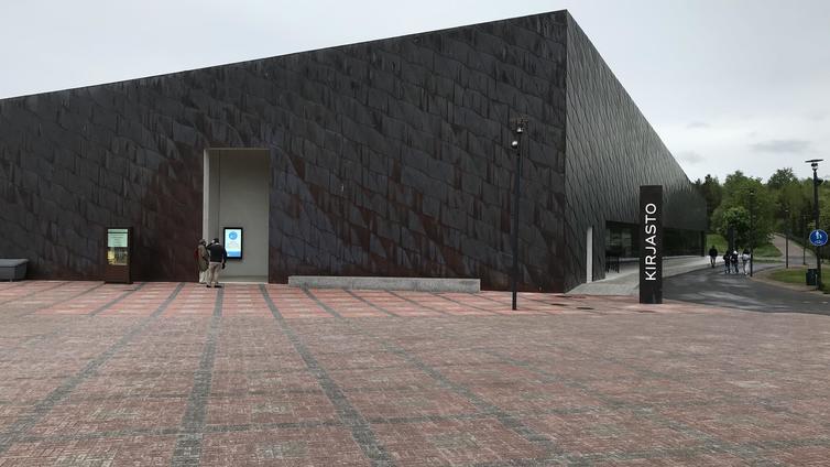 Arkkitehtuurin Finlandia kirjasto Fyyrille