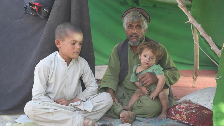 Afganistan on humanitaarisen katastrofin partaalla