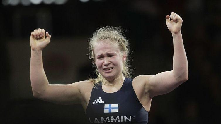 Petra Olli paini EM-kultaa!