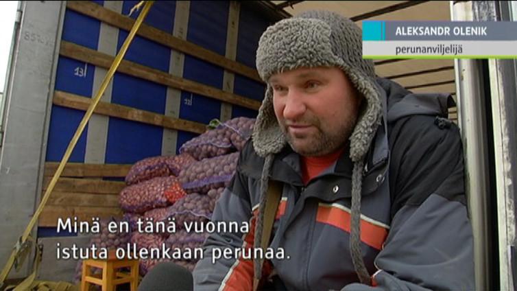 Kulkurajoitukset ja veden puute piinaavat Krimin ja Ukrainan rajaseudun asukkaita