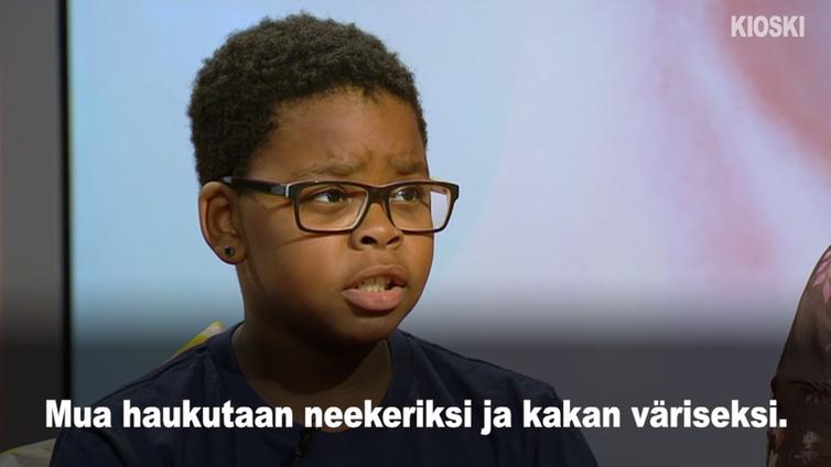 Rasismi arkipäivää 11-vuotiaan Valtterin elämässä
