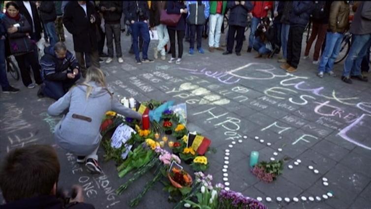 Belgiassa surraan terrori-iskujen uhreja