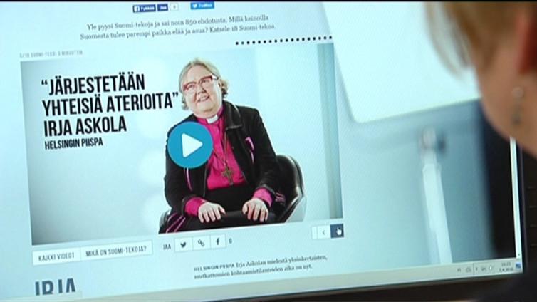 Piispa haluaa koota ihmiset yhteiselle aterialle – tekoja paremman Suomen puolesta