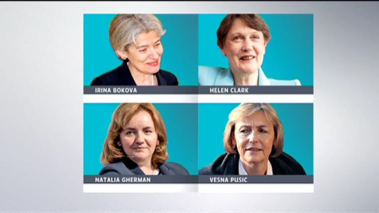 YK:n johtoon viimein nainen?