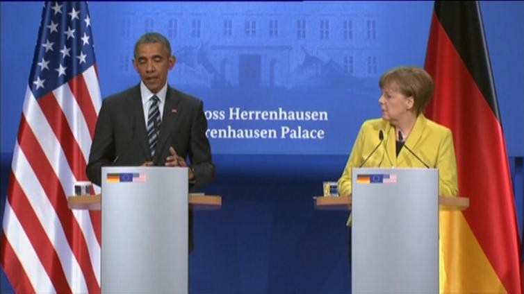Obama hyvästelee Eurooppaa - vapaakauppasopimuksen kohtalo auki