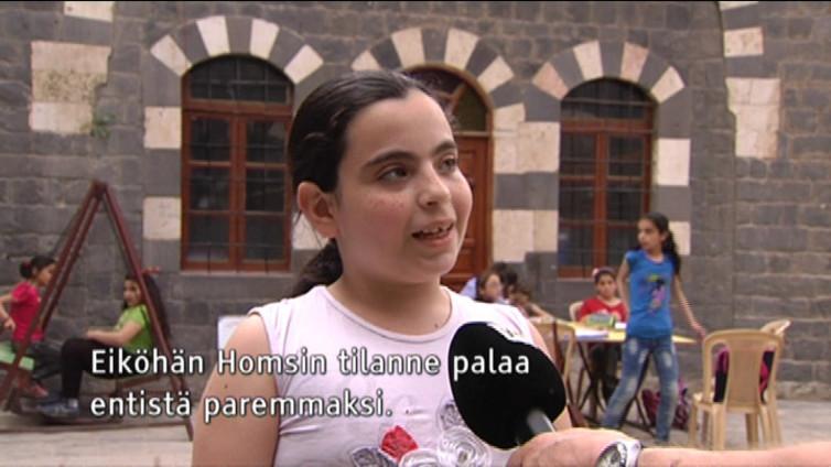 Homsin raunioissa elää lasten toivo paremmasta