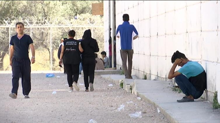 Kreikan pakolaisleireillä jännitys kiristyy