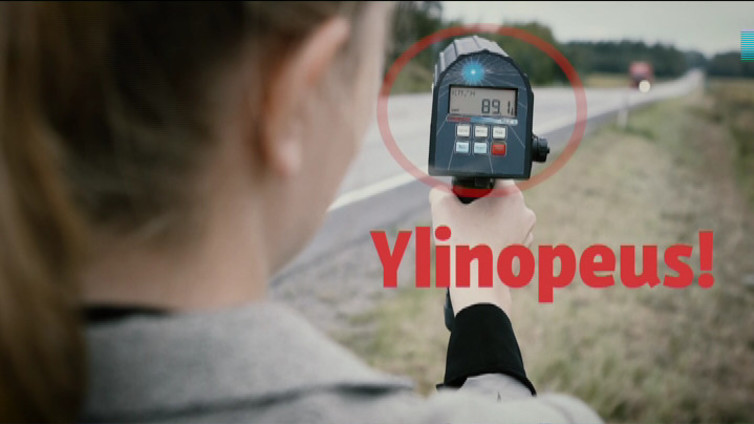 Vain 50 kameratolppaa valvoo oikeasti liikenteen nopeuksia