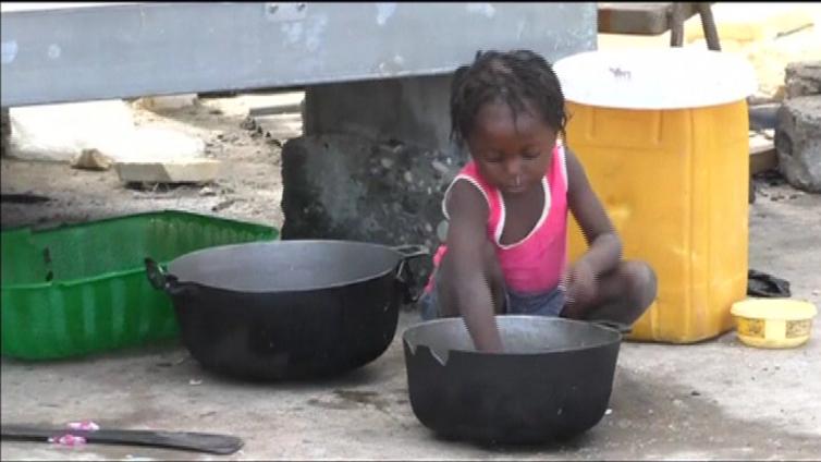 Taudit ja nälänhätä uhkaavat Haitia