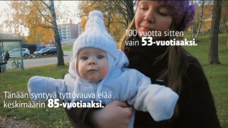 Suomalaisia on nyt 5,5 miljoonaa